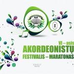 AKORDEONISTŲ FESTIVALIS - MARATONAS PLAKATAS 2x1,6m