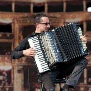 Džiazo muzikos atlikėjas Antonio Spaccarotella
